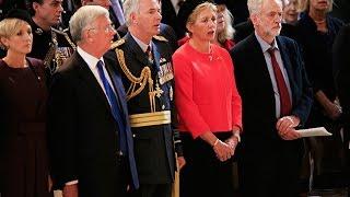 Jeremy Corbyn not singing   National Anthem isn