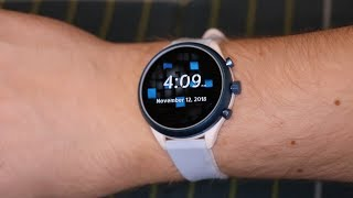Fossil Q (4th Gen) Sport UNBOXING + OVERVIEW
