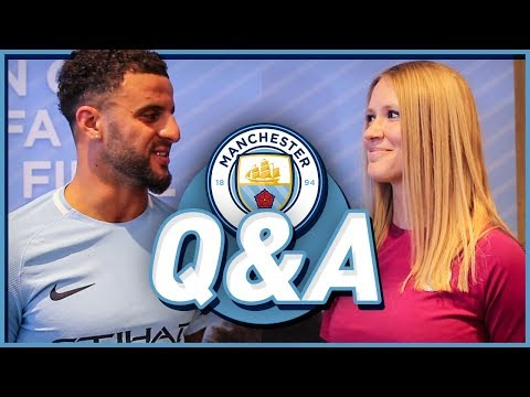 CHATTING W/ MAN CITY'S NEW RB KYLE WALKER!!