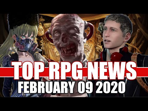 Top RPG News Of The Week - Feb 09, 2020 (Atomic Heart, Scalebound, Code Vein)