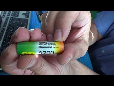 Тест аккумулятора GP 2700 Series