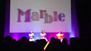 青森市 昭和通り商店街 から生まれた アイドル Marble の 初お披露目 ラ...