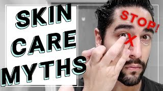 Skin Care Myths You Should Stop Believing! Skin Care, Grooming, Routine ✖ James Welsh