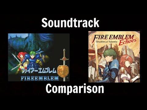 Fire Emblem Gaiden vs Fire Emblem Echoes Soundtrack Comparison