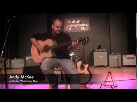 Andy McKee at Guitar Workshop Plus