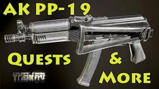 PP-19 , Quests, Comtacs & More! New Update! - Escape From Tarkov