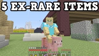 Minecraft Xbox - These 5 Items USED TO BE RARE