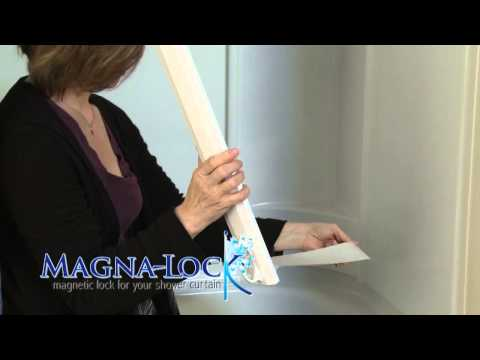The Magna-Lock® Shower Curtain Sealing System