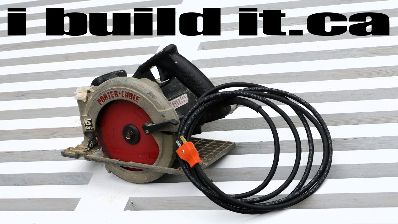 Circular Saw Cord Replacement - YouTube