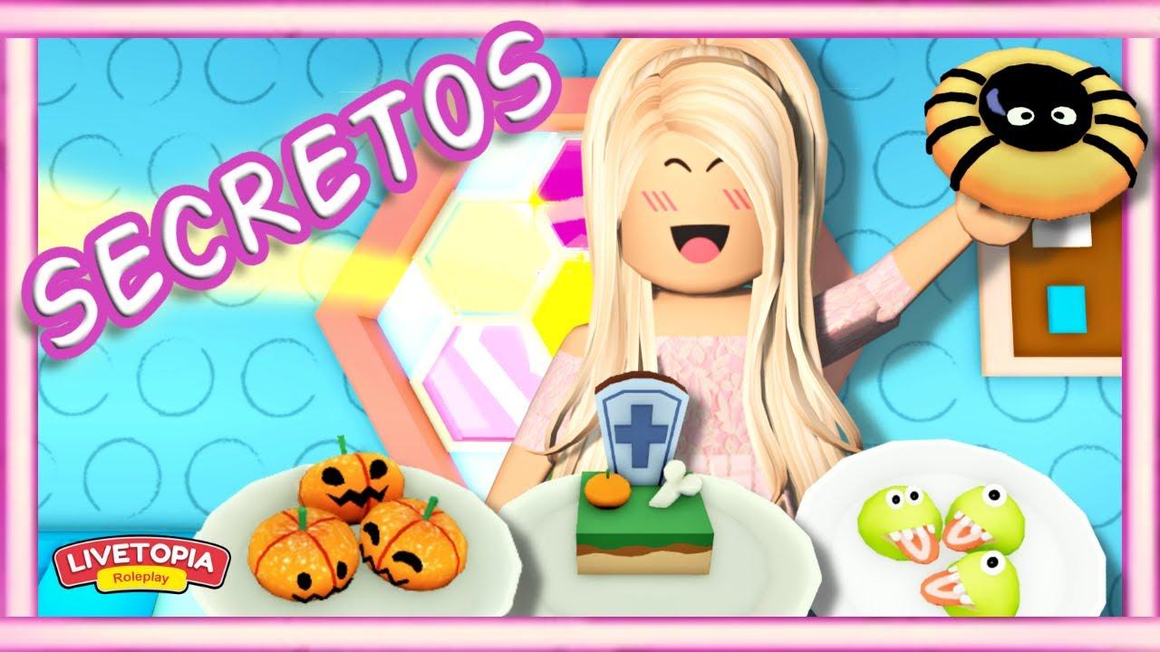 🐝 **NUEVO** lugar SECRETO + RECETAS de Halloween + granja SECRETA - Livetopia Roblox 🐝