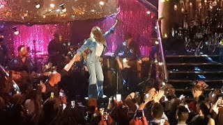 Kylie Minogue - Dancing at Cafe De Paris in London on 13th March 2018