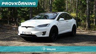 Tesla Model X – en glorifierad minibuss eller framtidens SUV? Vi har provkört!