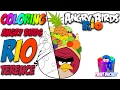 Gambar cover How to Color Angry Birds Rio Coloring Page - Angry Birds Coloring Book