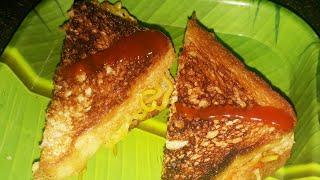 Maggi Cheese Sandwich Recipe | How to Make Maggi Sandwich | Kids Special Maggi Sandwich |Grilled |