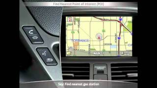 2011 & 2010  Acura MDX Navigation Tutorial