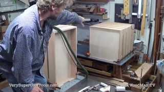823. Sanding Drawer Exteriors  • Table Saw Work Station Series