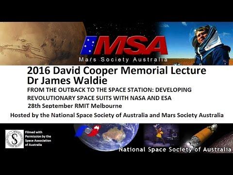NSSA   MSA   David Cooper Memorial Lecture 2016