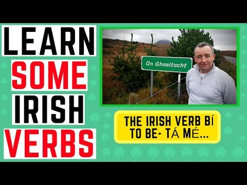 Learn the Irish Language - the verb bí, to be