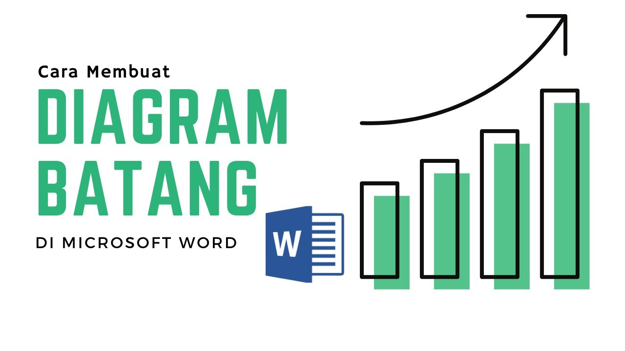 Cara membuat diagram batang di ms word youtube cara membuat diagram batang di ms word ccuart Images