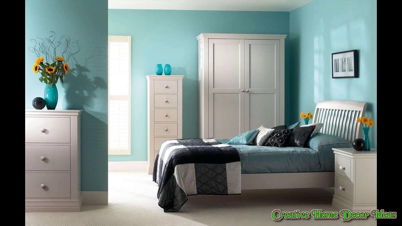 Aqua Color Bedroom Ideas