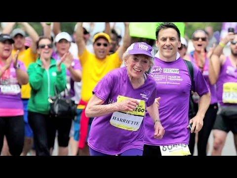 Oldest woman to complete a marathon speaks to CNN