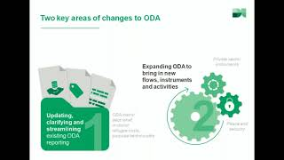 How is aid changing? An introduction to ODA modernisation
