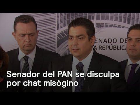 Senador Ismael García Cabeza de Vaca se disculpa por chat misogino - En Punto con Denise Maerker