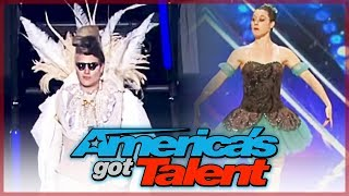 AUDITIONS GONE WRONG On America's Got Talent?!...