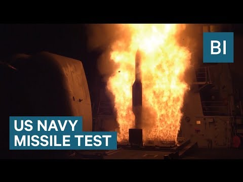 The US Navy shot down a missile in its latest test after North Korea launched a missile over Japan