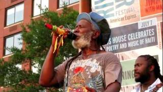 Burning Spear, Old Marcus Garvey, Rockefeller Park, NYC 7-21-10