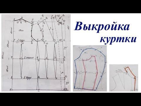 Выкройка - основа демисезонной куртки от А до Я