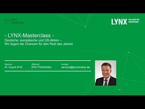 LYNX - Deutsche, europäische und US-Aktien - Aktuelle Trading-Chancen