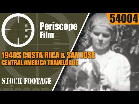 1940s COSTA RICA & SAN JOSE  CENTRAL AMERICA TRAVELOGUE 54004