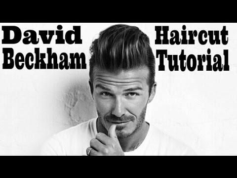 David Beckham Haircut 2013 Tutorial Traffic Club