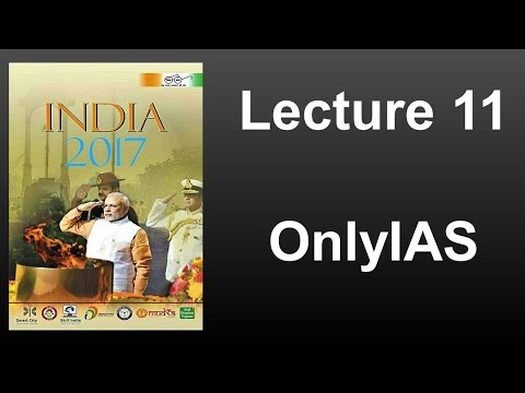 Lecture 11, India Year Book 2017
