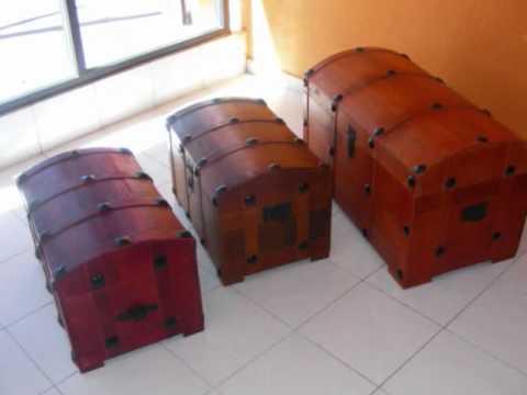 Muebles de madera en la ciudad de Mexico - YouTube