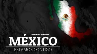 CAE EDIFICIO TRAS FUERTE TERREMOTO EN MÉXICO