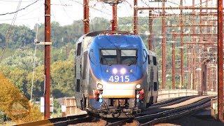 MARC & Amtrak Action: Perryville, Aberdeen & Halethorpe