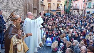El párroco de San Pablo bendice a los animales