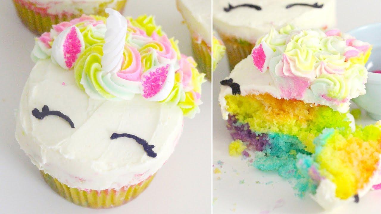 unicorn cupcakes ideas