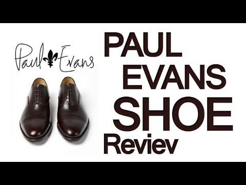 Paul Evans Shoe Review - Cap-Toe Dress Shoes - Men's Footwear Video Reviews