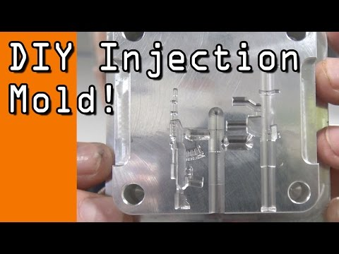Machining a DIY Injection Mold!  WW114