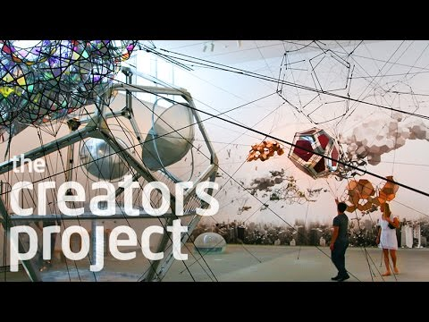 Tomás Saraceno's Cloud Cities and Solar Balloon Travel