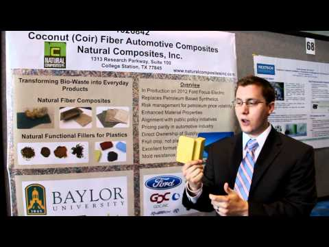 Composite Materials from Natural Coconut Fibers