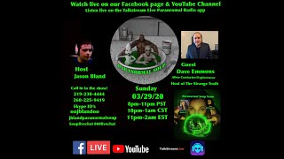 Paranormal Soup Ep 219 guest Alien Contactee Dave Emmons