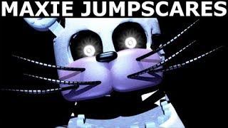 Jolly 3 - Maxie Animatronic Jumpscares (FNAF Fan Horror Game 2017)