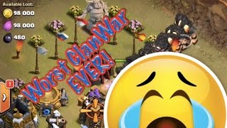 Worst Clan War ever? | Comedy Clash Of Clans Clan War | All giants? Seriously?