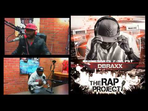 Krondon and Joe Styles on The Rap Project w' DBraxx 12-04-13