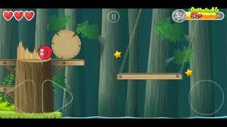 Красный шар мультик игра 3 серия! Детский летсплей #игровой мультфильм новые серии 2018 Red Ball