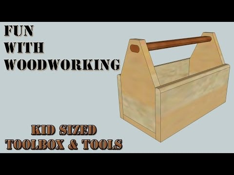 Project - How to make a kid's toolbox and tools out of a cedar fence picket